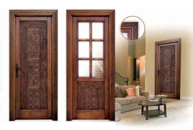 alpujarreas manufacturing of rustic style doors in spain classic rustic interior doors from spain - Interior Doors