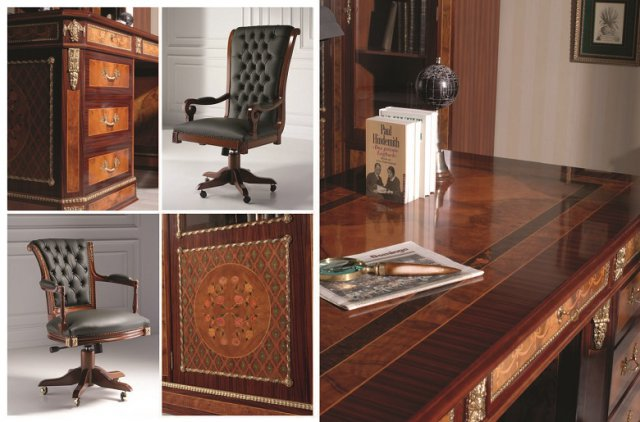 classic office desk. Classic Office Desks. Creaciones Fejomi, Luxury Home Offices, Tables With Marquetry, Desk L