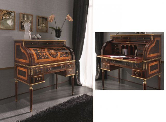 classical office furniture. Creaciones Fejomi, Classic Luxury Home Offices, Tables With Marquetry, English Furniture, Classical Office Furniture