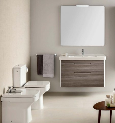 Roca bathroom sanitary ware manufacturer from spain for Roca bathroom furniture