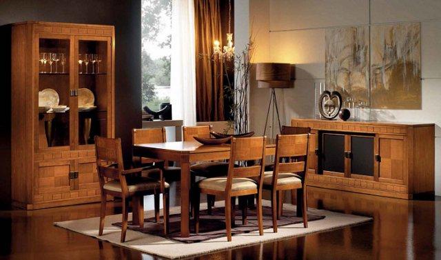 Fabricas de muebles de comedor idea creativa della casa for Muebles comedor clasicos