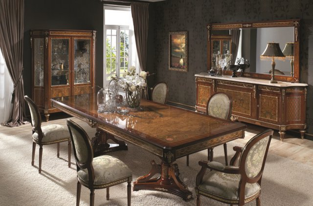 Comedores cl sicos de espa a mueble para comedor for Muebles de comedor elegantes