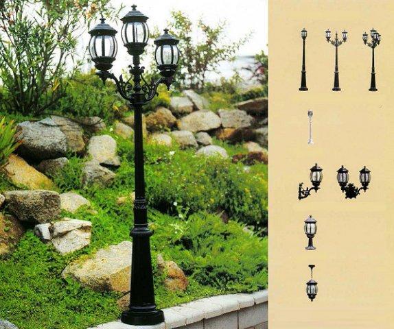 Iluminaci n de espa a para jard n y exterior - Lamparas exterior jardin ...
