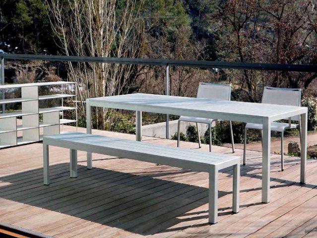 Indecasa f brica de muebles de aluminio anodizado for Muebles de aluminio para jardin