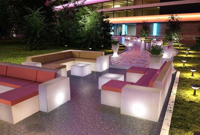 Lamalva fabricaci n de muebles para exterior de plastico for Muebles de jardin exterior