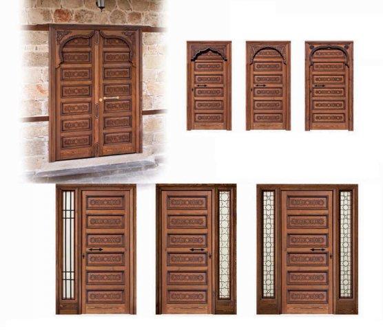 Portones de madera para exterior puertas rusticas with - Portones de madera para exterior ...