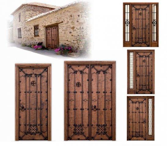 Portones de madera para exterior celosas enmarcadas para - Portones de madera para exterior ...
