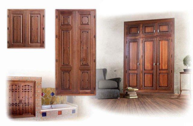 Alpujarre as puertas r sticas fabrica de puertas for Puertas madera rusticas interior
