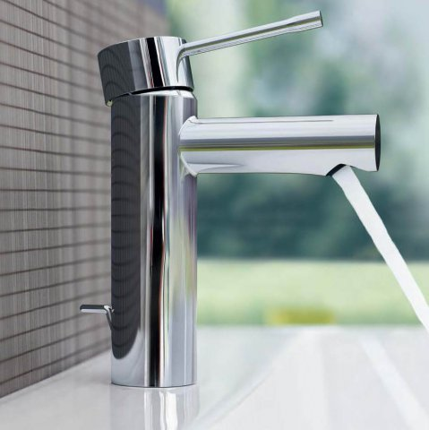 Grohe fabricante de grifer a para ba o y cocina for Griferia pared