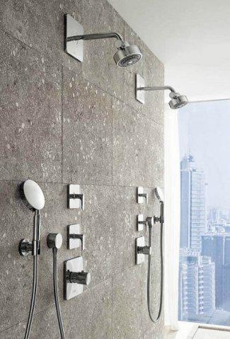 Hansgrohe fabricaci n de grifos duchas para ba o for Grifos modernos bano