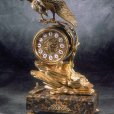 Soher, classic bronze clocks