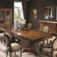 Creaciones Fejomi, classic luxury furniture for dining room, dining table with marquetry, chest of drawers with marquetry from Spain, buy luxury classic dining room with marquetry in Spain