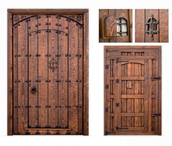 Alpujarreñas manufacturing of rústic style doors in Spain classic rustic exterior doors from Spain : rustic doors - pezcame.com