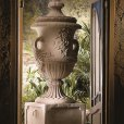 Renato Costa, classical decorative planters and vases, baroque stone planter, large decorative vases stone pots buy in Spain