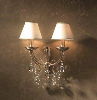 Apliques de espa a apliques de bronce cl sicos - Apliques y lamparas ...