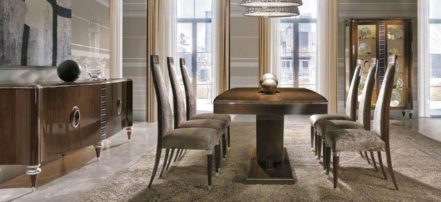 Comedores clasicos de lujo great muebles de comedor Comedores altos modernos