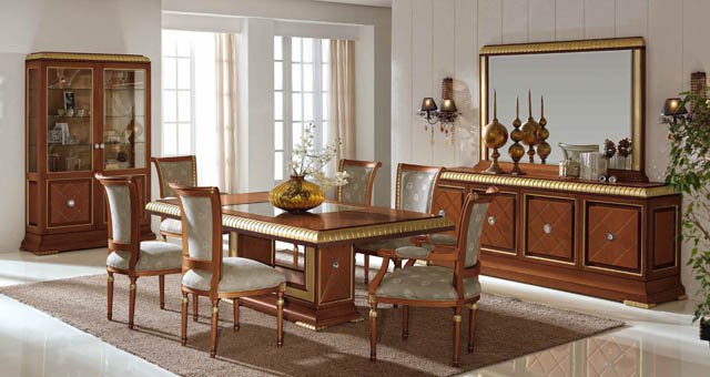 Llass f brica de muebles de calidad de estilos cl sicos - Comedores altos modernos ...