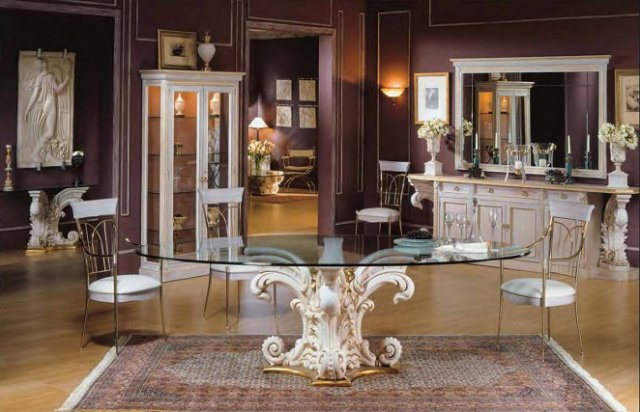 Renato costa f brica de muebles de lujo y decoraci n - Comedores clasicos ...