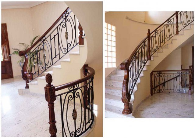 Torneados mu oz f brica de escaleras barandillas for Estanterias hechas con escaleras
