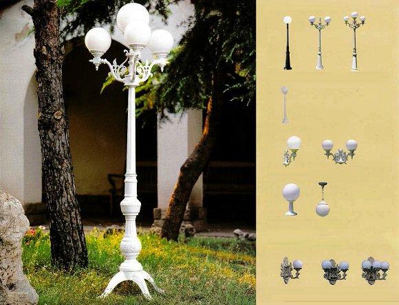 Iluminaci n de espa a para jard n y exterior for Lamparas para exteriores jardin
