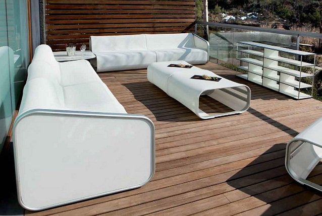 Indecasa f brica de muebles de aluminio anodizado for Muebles jardin modernos