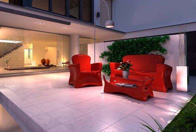 LAMALVA | Fabricación de muebles para exterior de plastico